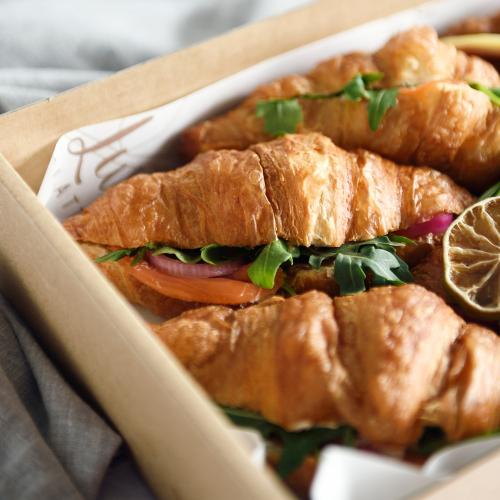 Sandwiches, Baguettes + Croissants